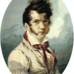 Na zdjęciu obraz przedstawiający podobiznę malarza Aleksandra Orłowskiego
