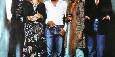 Zdjęcie przedstawia członków zespołu Fleetwood Mac