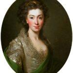 Na zdjęciu obraz przedstawiający podobiznę Izabeli Czartoryskiej