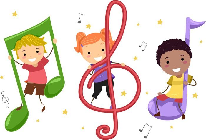 Znalezione obrazy dla zapytania muzyka dzieci