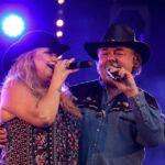 Na zdjęciu Alicja Boncol i Mariusz Kalaga podczas wspólnego występu na Pikniku Country w Siemianowicach Śląskich. Foto Monika Bilska