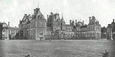 Szkic przestawiający Pałac w Świerklańcu
