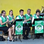 Zbliżenie na muzyków Górniczej Orkiestry Dętej Bytom. Foto Monika Bilska